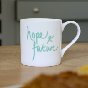 Hope and Future Personalised Mug
