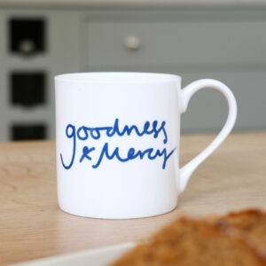 Goodness and Mercy Personalised Mug