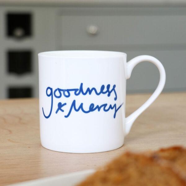 Goodness and Mercy Personalised Mug
