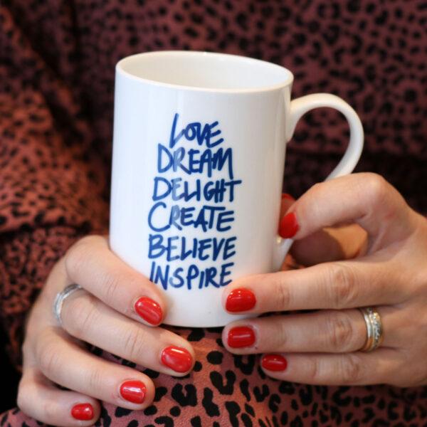 Love Dream Delight China Mug Gift