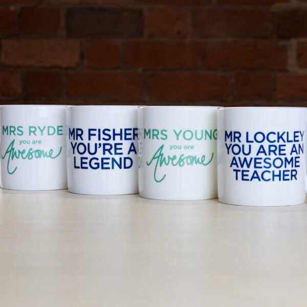 Teachers Thanks Mug Gift