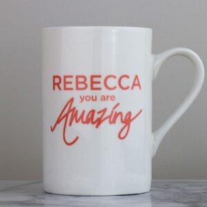 You Are Amazing Personalised Bone China Mug