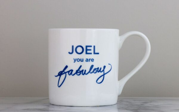 You Are Fabulous Personalised Bone China Mug