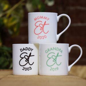 Established Personalised Mug Gift