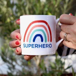 Superhero 2 Personalised Mug