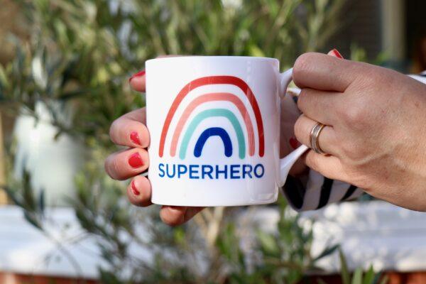 Superhero 2 Personalised Mug