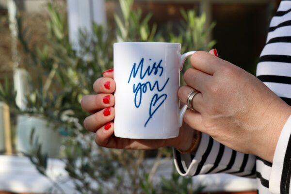 Miss You Personalised Mug