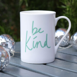 Be Still Bone China Mug