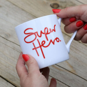 Superhero Personalised Mug