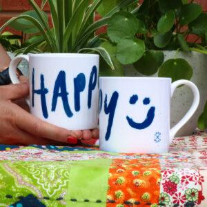 Happy Mug from Love Mugs Personalised Gifts