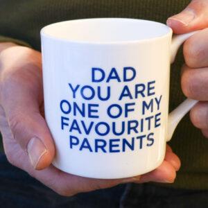 Love Mugs You're My Favourite Dad China Mug