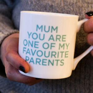 Love Mugs You're My Favourite Mum China Mug