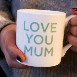 Love Mugs Love You Mum China Mug