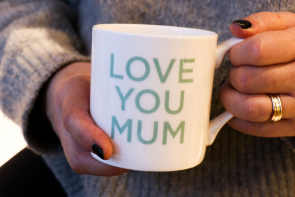 Love Mugs Love You Mum China Mug