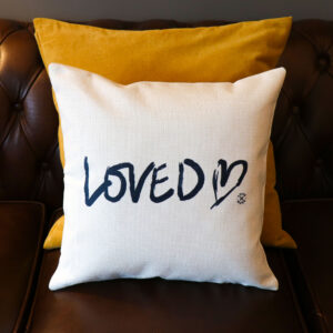 Personalised Loved Cushion