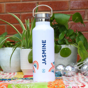 Personalised Water Bottle from Love Mugs